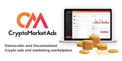 ICO Crypto Market Ads (IEO) image in the ICO list