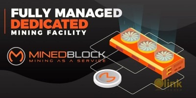 ICO MINEDBLOCK image in the ICO list