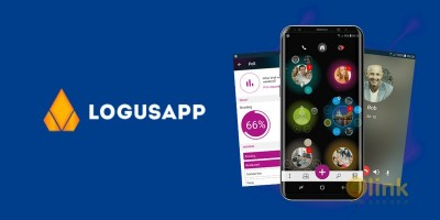 ICO LogusApp Messenger image in the list