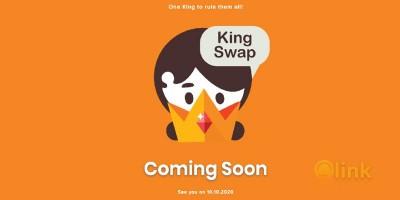 ICO KingSwap image in the list