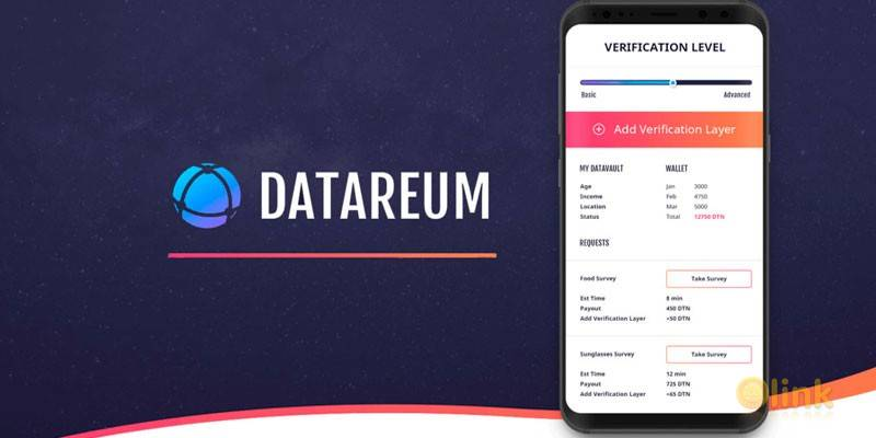 ICO Datareum on the List