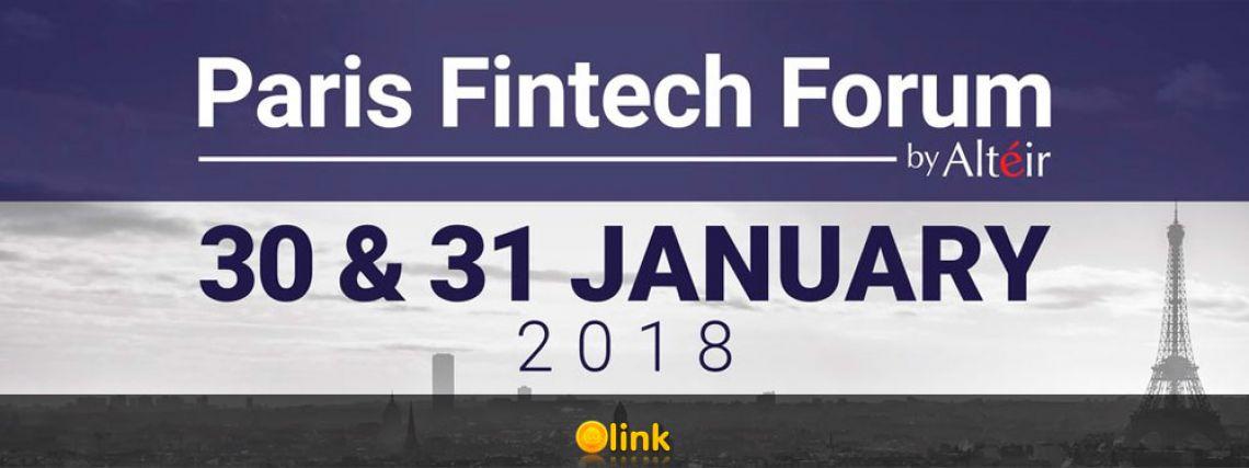 Paris Fintech Forum 2018, January 30th & 31st