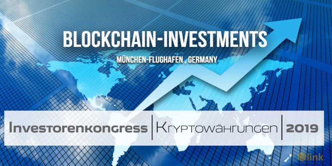Blockchain-Investments  München-Flughafen , Germany