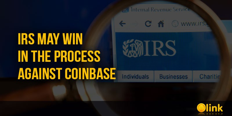 ICO-LINK-NEWS-IRS-may-win-in-the-process-against-Coinbase