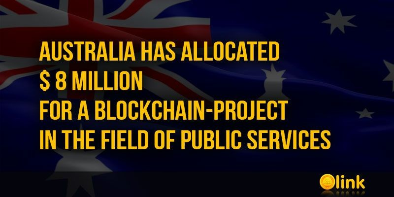 ICO-LINK-NEWS-Australia-has-allocated--8-million-for-a-blockchain-project-in-the-field-of-public-services