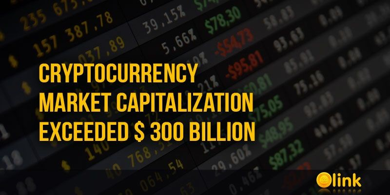 ICO-LINK-NEWS-Cryptocurrency-Market-capitalization-exceeded--300-billion