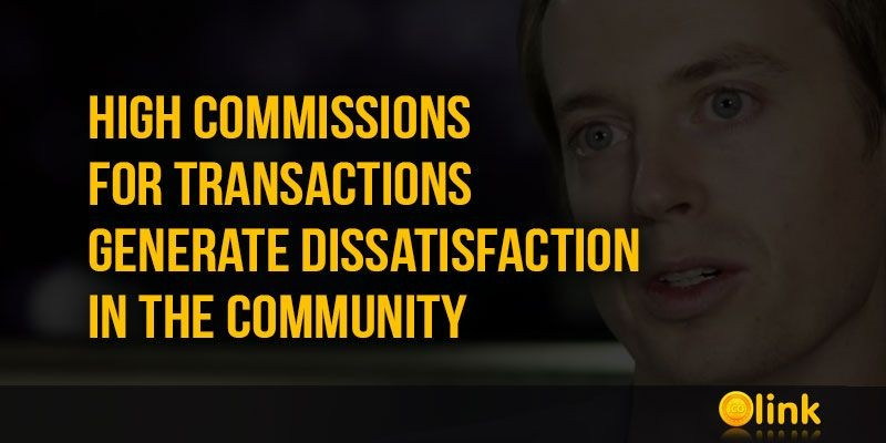 ICO-LINK-NEWS-High-commissions-for-transactions-generate-dissatisfaction-in-the-community