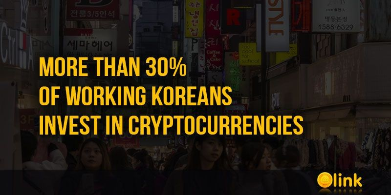ICO-LINK-NEWS-More-than-30-of-working-Koreans-invest-in-Cryptocurrencies