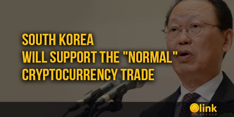 ICO-LINK-NEWS-South-Korea-will-support-the-normal-cryptocurrency-trade