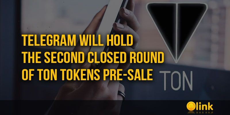 ICO-LINK-NEWS-Telegram-will-hold-the-second-closed-round-of-TON-tokens-pre-sale