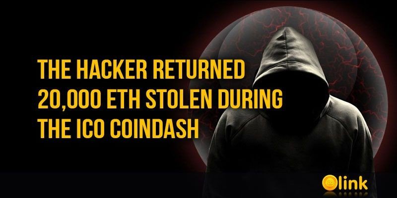 ICO-LINK-NEWS-The-hacker-returned-20-000-ETH-stolen-during-the-ICO-Coindash