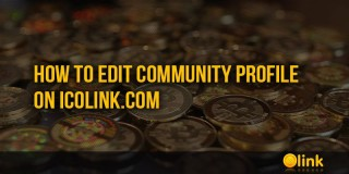 How to Edit Community Profile on ICOLINK.COM