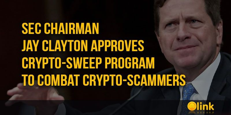ICO-NEWS-SEC-chairman-approves-Crypto-Sweep-program