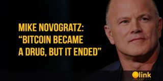 "Mike Novogratz: ""Bitcoin became a drug, but it ended"""