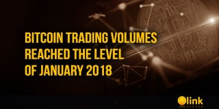 Bitcoin trading volumes reached the level of January 2018