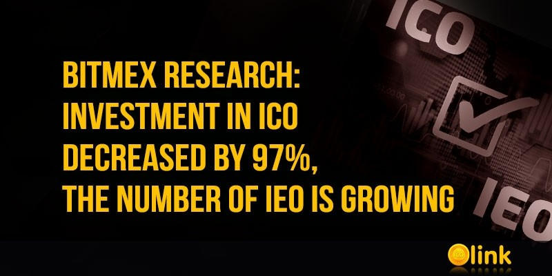 BitMEX research: investment in ICO decreased by 97%, the number of