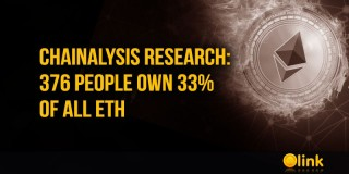 Chainalysis research: 376 people own 33% of all ETH