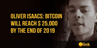 Oliver Isaacs: Bitcoin will reach $ 25,000 by the end of 2019