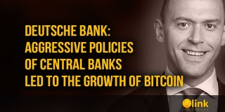 Deutsche Bank: aggressive policies of central banks led to the growth of Bitcoin