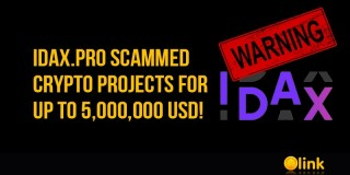 IDAX.pro SCAMMED crypto projects for up to 5,000,000 USD!