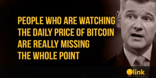 People who are watching the daily price of Bitcoin are really missing the whole point
