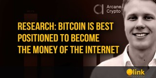 Research: Bitcoin is best positioned to become the money of the internet