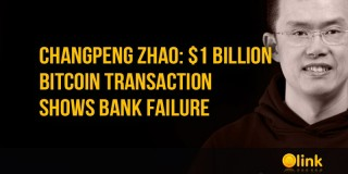 Changpeng Zhao: $ 1 billion cryptocurrency transaction shows bank failure