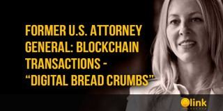"Former U.S. Attorney General: Blockchain transactions - ""digital bread crumbs"""