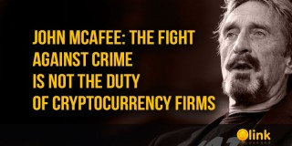 John McAfee: the fight against crime is not the duty of cryptocurrency firms