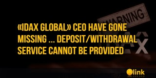 «IDAX Global» CEO have gone missing ... deposit/withdrawal service cannot be provided
