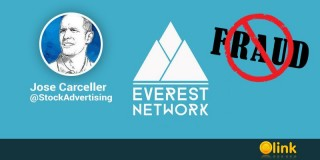 ICO marketing fraud by EVEREST NETWORK running Jose Carceller - posted in ICO List Blog