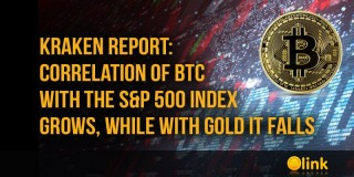 Kraken report: correlation of BTC with the S&P 500 index grows, while with gold it falls - posted in ICO List Blog