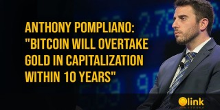 "Anthony Pompliano: ""Bitcoin will overtake gold in capitalization within 10 years"" - posted in ICO List Blog"