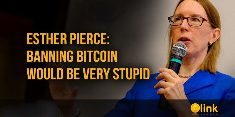 Esther-Pierce-banning-Bitcoin-stupid
