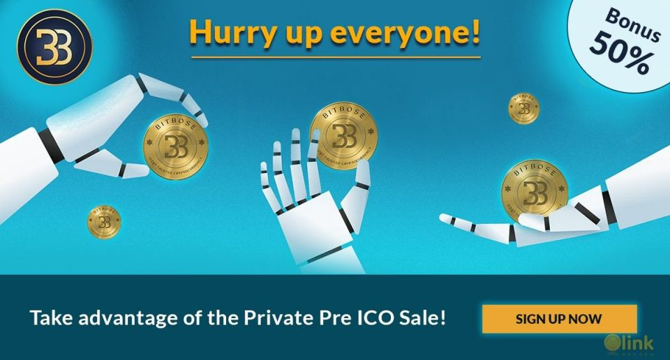 #BitBose Private PreSale is Live.Get 50%25 Extra Bonus.To participate in the Token Sale, token investors will be able to pay with #bitcoin #ethereum #litecoinJoin Now: https://www.bitbose.com/#BoseToken #tokensale #preico #BTC #ETH #LTC  #crypto #cryptocurrency #cryptocurrencynews #investors