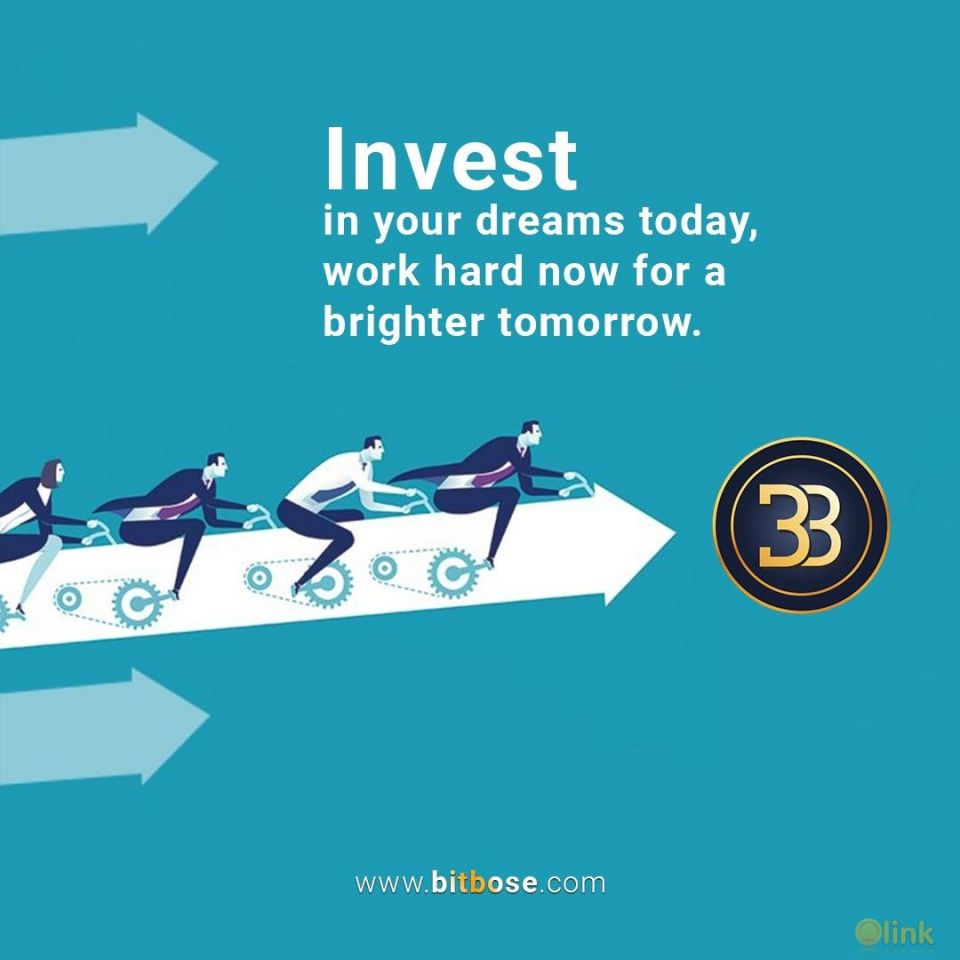Invest in your dreams today, Work hard now for a brighter tomorrow.???????????????????? ????????????,???????????????????? ????????????????????https://www.bitbose.com/signup #WednesdayWisdom #preico #Technology #Invest #AI #crowdsale #bounty #Blockchains #cryptolife #invest #bitbose #brightfuture #workhard #buybosetoken