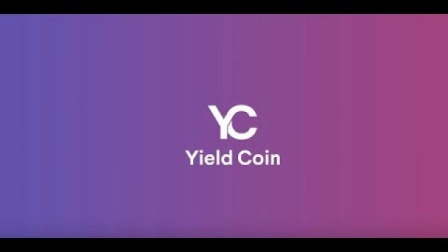 Yield Coin ICO VIDEO PRESENTATION ON ICOLINK