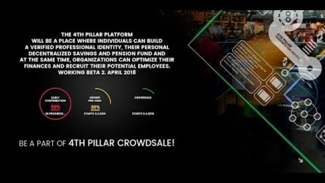 The 4th Pillar project ICO VIDEO PRESENTATION ON ICOLINK