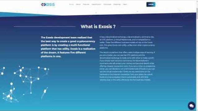 Видео ICO EXOSIS